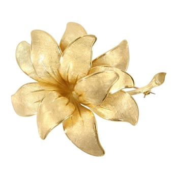 Tiffany & Co Flower Brooch