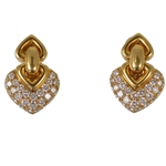BULGARI Heart Earrings